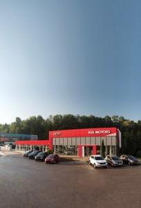 Autosalony Kia Motors na Slovensku