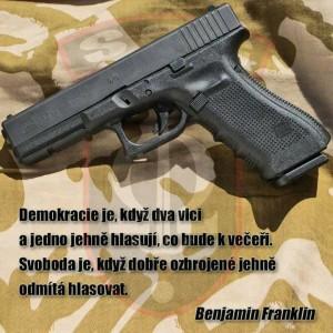 Benjamin Franklin o demokracii